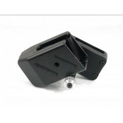 Portacargador IPSC Negro