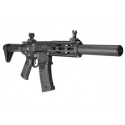 AMOEBA M4 ASSAULT RIFLE DESERT (BLACK) AM-014-BK