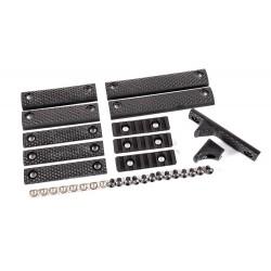 Dytac UXR 3 & 3.1 Panel Full Kit Black (Pack of 12 pcs)
