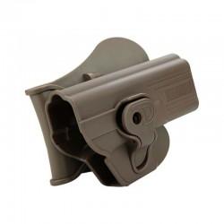 Pistolera Holster Glock 17,18,19,23,34,35 FDE