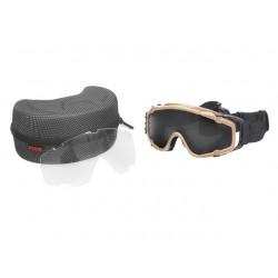 Gafas de protección tan con ventilador