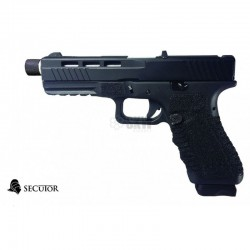 PISTOLA GAS Y CO2 GLADIUS 17 NEGRA SECUTOR
