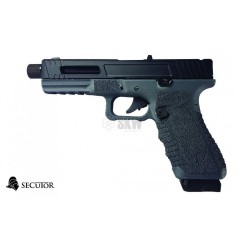 PISTOLA GAS Y CO2 GLADIUS 17 NAVY GREY SECUTOR