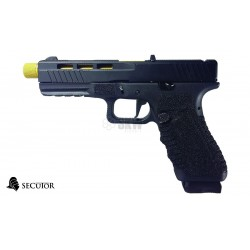 PISTOLA GAS Y CO2 GLADIUS 17 GOLD GREY SECUTOR
