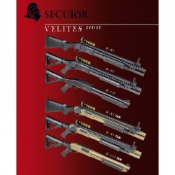 ESCOPETA VELITES G-III NEGRA SECUTOR