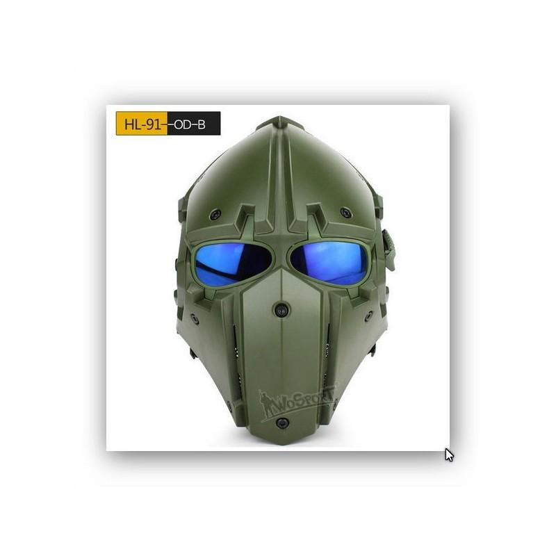 a0de9fc5f ... Mascara Obsidian A con lente malla y azul BK ...