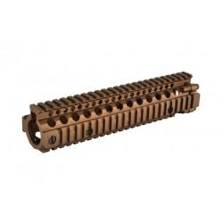 "Madbull Daniel Defense MK18 9.5"" M4A1 RIS II Airsoft CNC Aluminum RIS - Dark Earth"