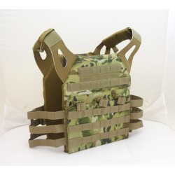 Chaleco JPC Plate Carrier V18+Placas Multicam