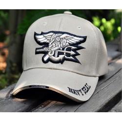 Gorra de béisbol Navy Seal tan