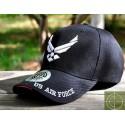 Gorra de béisbol AIR FORCE negro