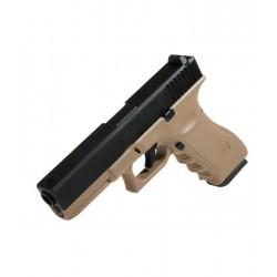 Glock 17 KJW TAN corredera metálica