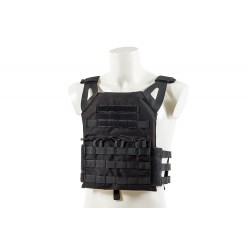 Chaleco JPC Plate Carrier V18+Placas Black River Negro