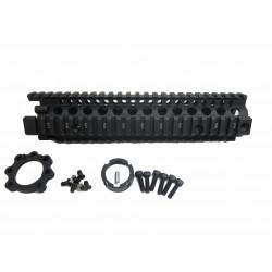 "Madbull Daniel Defense MK18 9.5"" M4A1 RIS II Airsoft CNC Aluminum RIS - Black"