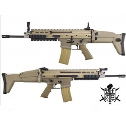 FN Herstal Full Metal SCAR Light Airsoft AEG Rifle by VFC