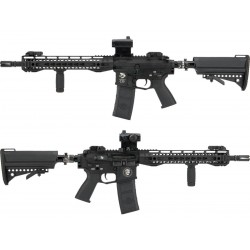 "G&P / Polarstar Full Metal M4 R3 HPA Powered Airsoft Rifle (Length: 12.5"" Keymod Handguard)"