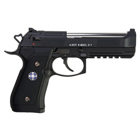 Pistola Tokyo Marui Biohazard Albert.W.Model 01P (Umbrella Corporation) GBB