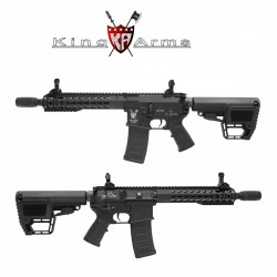 Subfusil King Arms TWS M4 KeyMod CQB Negro AEG - 6mm