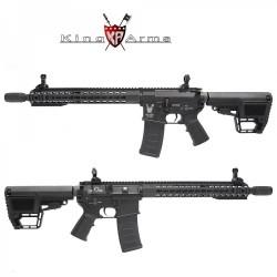 Subfusil King Arms TWS M4 KeyMod Carbine Negro AEG - 6mm