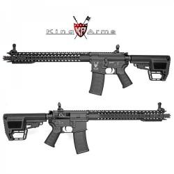 Subfusil King Arms TWS M4 KeyMod Dinosaur Negro AEG - 6mm.