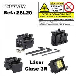 Laser compacto Zasdar - Clase 3R