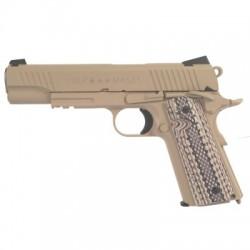 COLT 1911 M45 RAIL GUN CO2 TAN